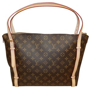 Louis Vuitton New In Box Receipt Tuileries Monogram Canvas Handbag Purse New Tuileries In Box Tote in Brown