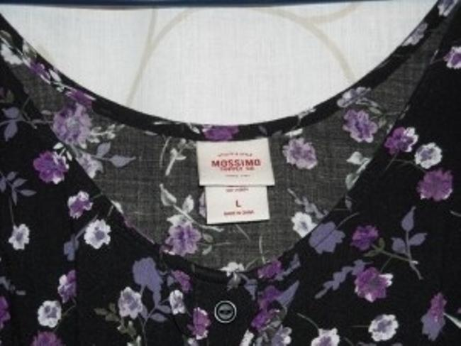 Mossimo Supply Co. short dress Black and Purple on Tradesy