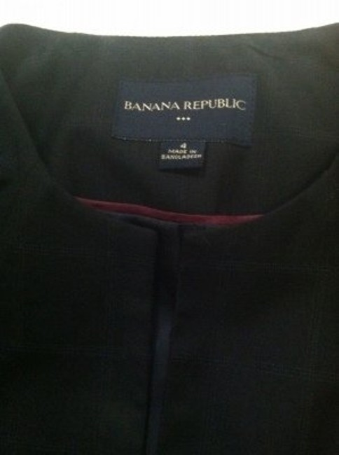 Banana Republic Navy blue skirt suit