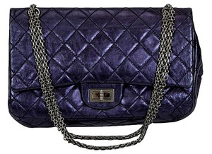 Chanel Jumbo Reissue Metallic Rare Quilted Vintage Shoulder Bag