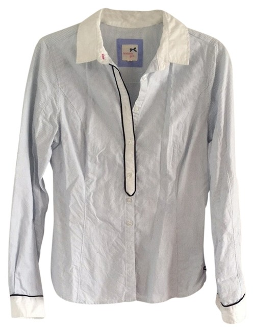 Tommy Hilfiger Button Down Shirt White / Blue