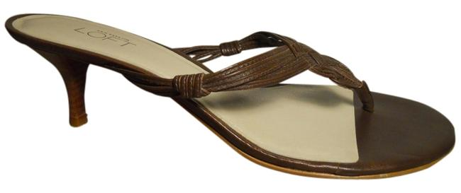 Item - Brown Leather Thong Sandals Size US 8 Regular (M, B)