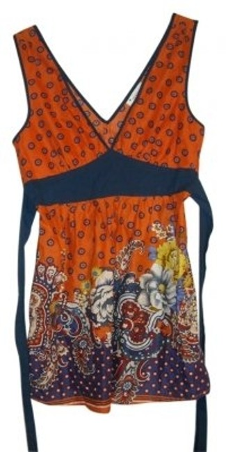 Preload https://item5.tradesy.com/images/forever-21-orange-and-blue-tank-topcami-size-6-s-30049-0-0.jpg?width=400&height=650
