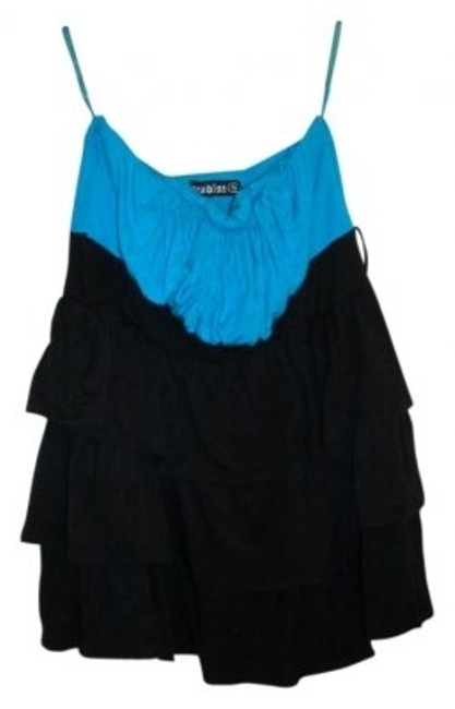 Preload https://img-static.tradesy.com/item/30056/black-and-blue-paradise-strapless-tank-topcami-size-6-s-0-0-650-650.jpg