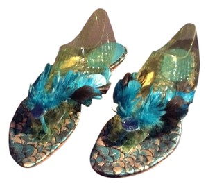 Sergio Rossi Blue hues Sandals