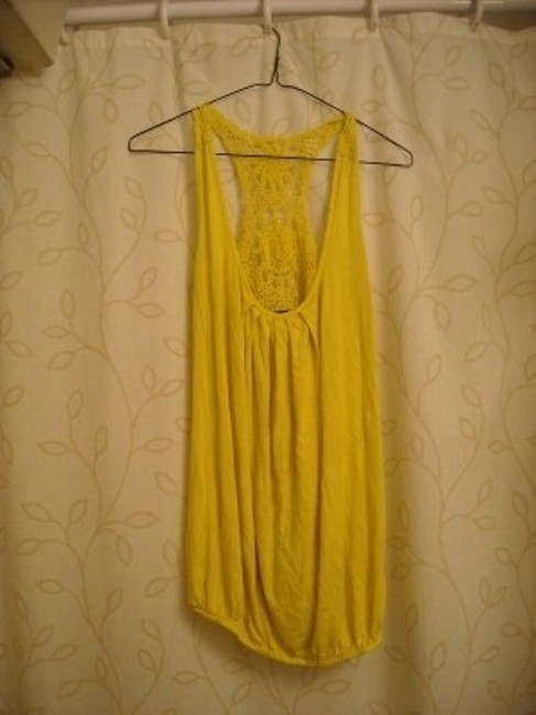 Tempted Top Yellow
