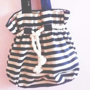 Gwen Stefani Stripes Target Harajuku Cute Trendy Summer Purse Great Condition Royal Blue and White Beach Bag