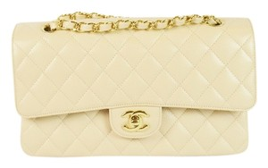 Chanel A01112 Cc Caviar Classic Flap Shoulder Bag