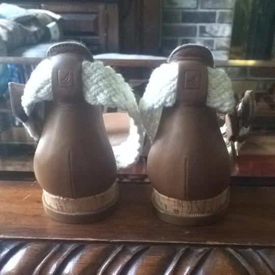 Sperry Tan Sandals