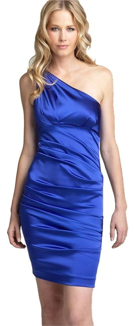Preload https://img-static.tradesy.com/item/300803/nicole-miller-blue-satin-one-shoulder-above-knee-cocktail-dress-size-4-s-0-0-650-650.jpg