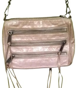 Rebecca Minkoff Mini 5 Zip Convertible Crossbody Leather Shoulder Bag