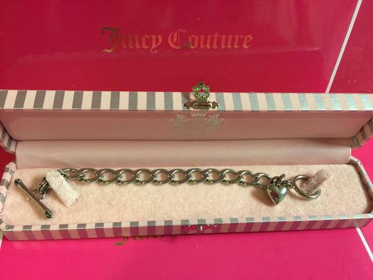 Juicy Couture JUICY COUTURE SILVER STARTER CHARM BRACELET