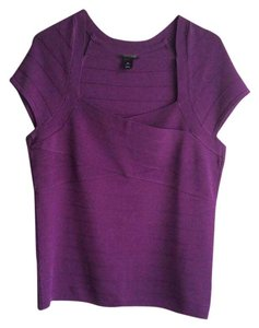 White House | Black Market Top Purple Royal