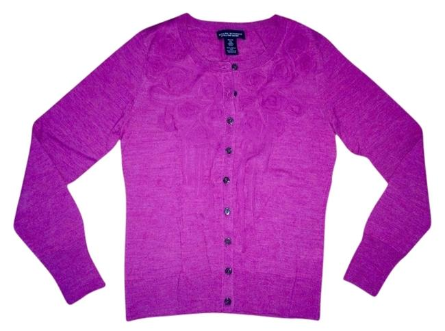 Preload https://item3.tradesy.com/images/banana-republic-purple-fitted-floral-detail-merino-wool-cardigan-size-petite-2-xs-3008392-0-0.jpg?width=400&height=650