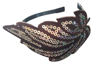 Other Brown/silver Leaf Headband