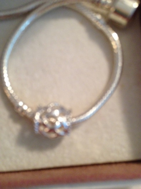 Item - Silver Barrel Style Spacer For European Style and Beaded Bracelets 4mm Hole. Charm