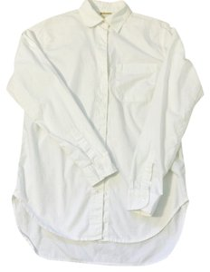 Ralph Lauren Boyfriend Shirt Buttondown Button Down Shirt White