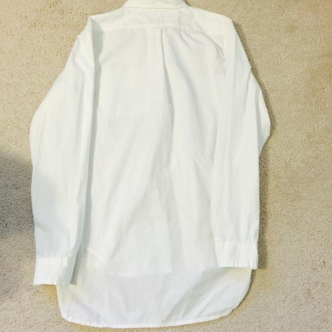 Ralph Lauren Boyfriend Shirt Button Down Shirt White