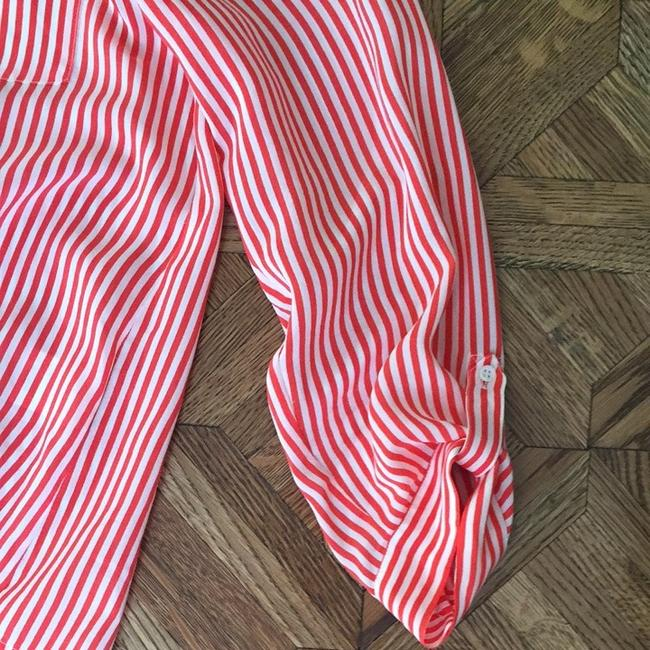 Joie Top Red/white Strips