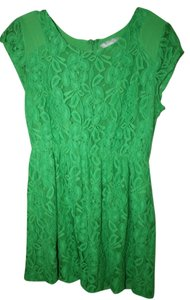 Urban Outfitters short dress Green on Tradesy