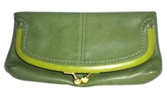 Preload https://item2.tradesy.com/images/coach-limited-edition-foldover-green-leather-clutch-30091-0-0.jpg?width=440&height=440