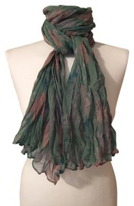 Marc by Marc Jacobs Marc by Marc Jacobs Crinkled Silk Chiffon Scarf