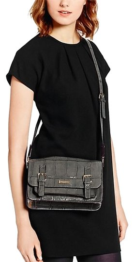 Kate Spade Patent Leather Crocodile Cross Body Bag