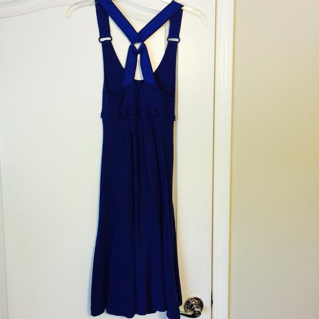 A|X Armani Exchange short dress Blue Fun Summer Beach on Tradesy
