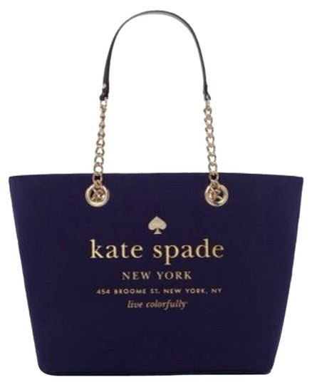 Preload https://item5.tradesy.com/images/kate-spade-broadway-coal-blue-tote-3011299-0-0.jpg?width=440&height=440