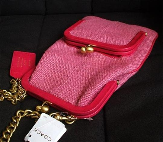 Coach Louis Vuitton Gucci Dooney & Bourke Rare Vintage Tote in Red