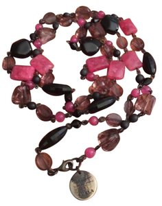 Furla Furla Resin Beaded Necklace
