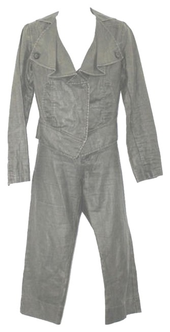Preload https://item3.tradesy.com/images/cabi-2-pc-linen-gray-pant-suit-size-4-s-3011707-0-0.jpg?width=400&height=650