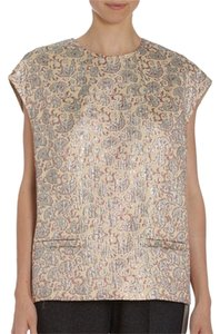 Dries van Noten Brocade Paisley Silk Boxy Tunic