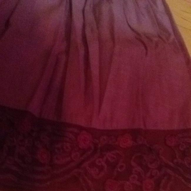 Free People Ombre Style Free Skirt Purple