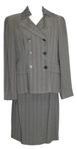 Carmen Marc Valvo CARMEN MARC VALVO DOUBLE BREASTED 2-PC. SKIRT SUIT 4