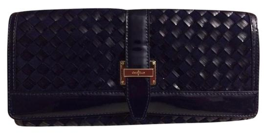 Preload https://item1.tradesy.com/images/cole-haan-izzie-heritage-weave-b35740-prussian-blue-leather-clutch-3012145-0-1.jpg?width=440&height=440