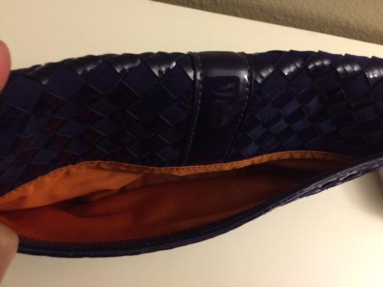 Cole Haan Prussian Blue Clutch