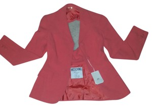 Moschino Dark Coral color Blazer