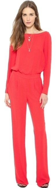 Item - Red Cynthia Long Sleeve Romper/Jumpsuit