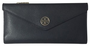 Tory Burch Tory Burch Wallet - Navy Blue And Tiffany Color