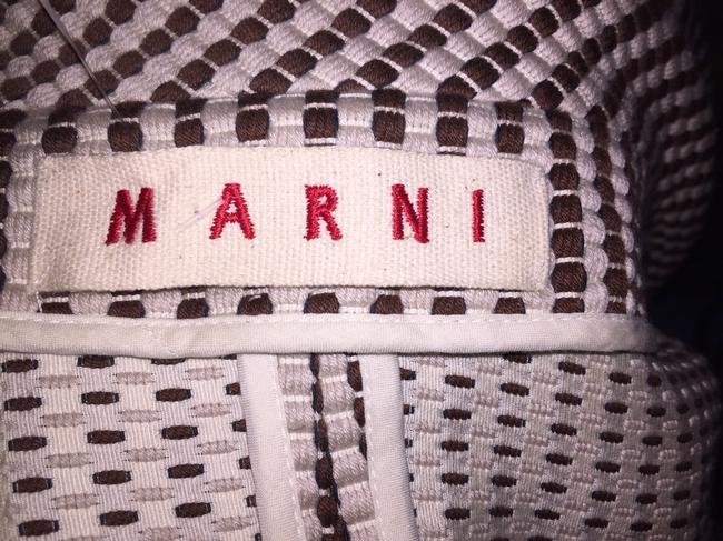 Marni brown/white Jacket