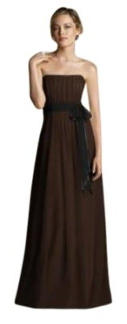 After Six Brown 6577......12 Uk Long Night Out Dress Size 12 (L) After Six Brown 6577......12 Uk Long Night Out Dress Size 12 (L) Image 1