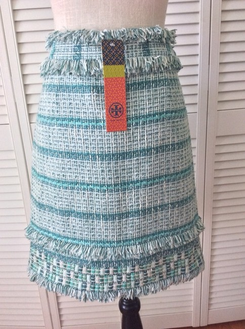 Tory Burch Skirt Blue