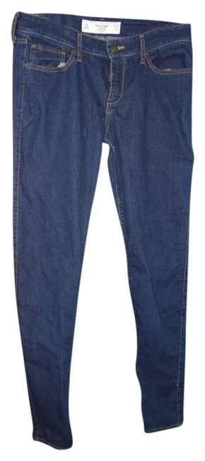 Preload https://img-static.tradesy.com/item/301292/abercrombie-and-fitch-dark-rinse-skinny-jeans-size-32-8-m-0-0-650-650.jpg