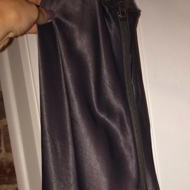 Helmut Lang short dress silver on Tradesy