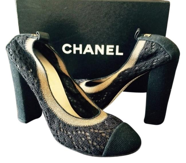 Item - Black Crochet & Beige Elastic And Cruise Collection Formal Shoes Size US 10 Regular (M, B)