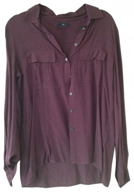 Preload https://item3.tradesy.com/images/gap-dark-purple-button-down-top-size-8-m-30147-0-0.jpg?width=400&height=650