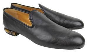 Gucci Mens Leather Loafer Black Boots