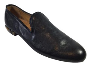 Gucci Men's Leather Loafers Black Flats