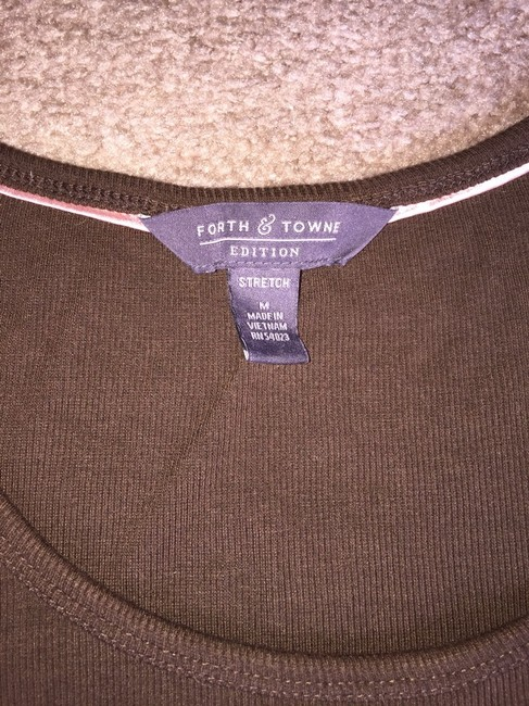 Forth & Towne Top Brown